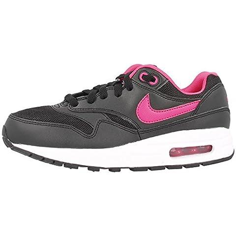 Nike Air Max 1 (GS) Schuhe black-vivid pink-white - 39