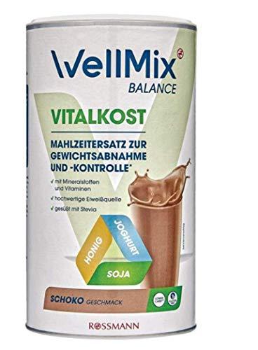 Vitalkost Shake Schoko Geschmack zur Gewichtsabnahme und -Kontrolle, 500 g