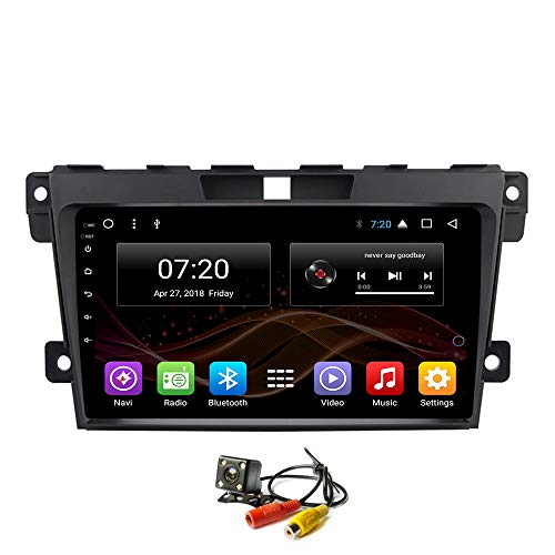 2.5D IPS Android 8.1 Octa Core Car DVD Radio GPS Navigation for Mazda CX7 Cx-7 2008-2015 Stereo Audio Navi Video with Bluetooth Calling WiFi Touch Screen (Android 8.1 1+16G for Mazda CX7) Cx Gps-systeme