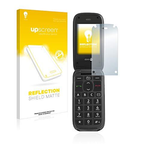 upscreen Entspiegelungs-Schutzfolie kompatibel mit Doro PhoneEasy 613 - Anti-Reflex Bildschirmschutz-Folie Matt