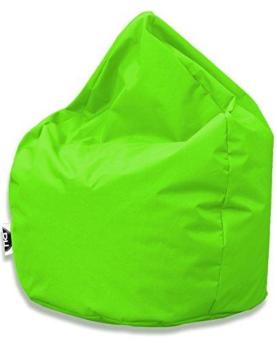 Sitzsack Tropfenform für In & Outdoor | XL 300 Liter - Kiwi - in 25 versch. Farben und 3 Größen