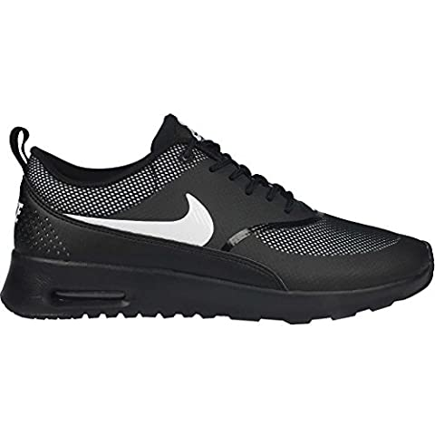 Nike Wmns Nike Air Max Thea, Chaussures de sport femme - - Noir et blanc, 35 EU