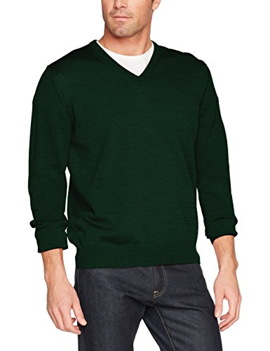 Maerz Herren Pullover 490400 Grün (Willow Green 279)
