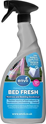 Envii Bed Fresh - Matratzen- und Bettzeug-Auffrischer, Reiniger & Geruchsentferner Spray (750ml)
