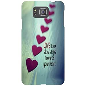 Printland Love Phone Cover For Samsung Galaxy Alpha G850
