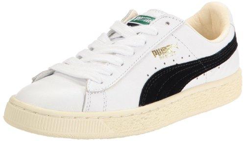 Puma  Basket Classic,  Herren Knöchel , Weiß - Bianco - Nero - Größe: 37