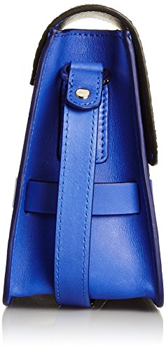 Lili Radu Lili's Shoulder Bag, Borsa a Tracolla Donna Blu  (Striking Blue/Black)
