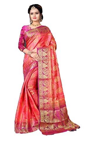 Sari Rara di Sari R01 da Donna di Seta Indiana di Banarasi e Sari Etnici