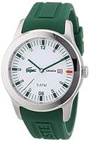 Reloj Lacoste 2010626 de cuarzo para hombre con correa de silicona, color verde de Lacoste
