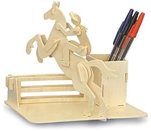 Equitation Pen Titulaire QUAY Kit de construction en bois FSC