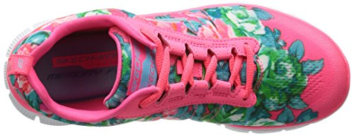 Skechers - Flex Appeal- Wildflowers, Scarpe da ginnastica Donna Rosa (HPMT)