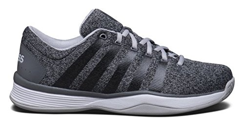 K-Swiss Hypercourt Lsheather - Zapatillas unisex, color gris, talla 44