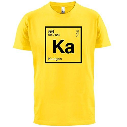 Kaia Periodensystem - Herren T-Shirt - 13 Farben Gelb
