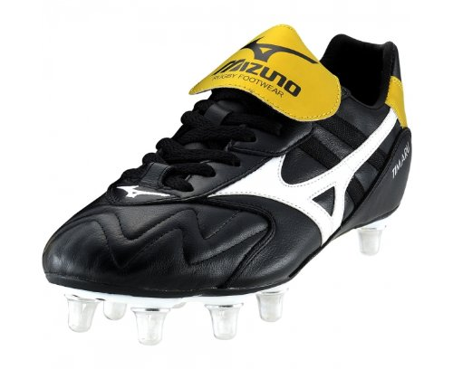 Mizuno Timaru Chaussures De Rugby (Low) Black