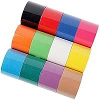 FITOP Kinesiologie Tape 12 Rollen Sport Tape in Verschiedenen Farben preisvergleich bei billige-tabletten.eu