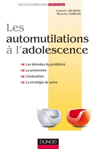 Les automutilations à l'adolescence