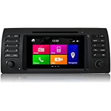 Dynavin N6-E53 Multimedia/Navigation Factory-Fit Style DVD/Bluetooth/iPod/GPS/SD/USB Touch-Screen Head Unit for BMW E53 X5, [Importado de Reino Unido]