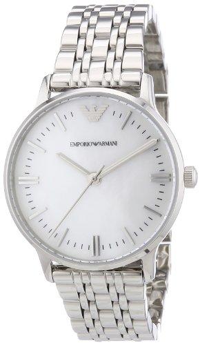 Emporio Armani - AR1602 - Montre Femme - Quartz Analogique - Bracelet Acier Inoxydable Argent