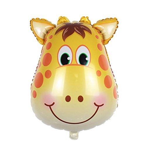 PINK SNAKE 6 Stück Folienballon Tier für Kinder Geburtstag Party Dekoration,zufällig - 4