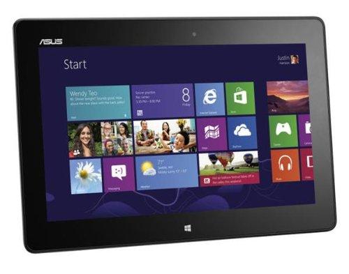 Asus VivoTab ME400C 25,7 cm (10,1 Zoll) Tablet-PC (Intel Atom Z2760, 1,8GHz, 2GB RAM, 64GB SSD, PowerVR SGX545, Win 8) schwarz (Asus Windows-8-tablets)
