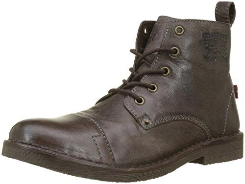 Levi's Herren Track Biker Boots, Braun (Dark Brown 29), 41 EU