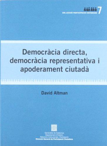Democràcia directa (Participació ciutadana)