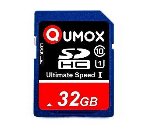 QUMOX 32Go SD HC 32 Go GB SDHC Class 10