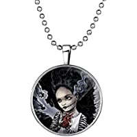 YC Top Design originale bellezza fantasma Halloween noctilucous Ciondolo Collana