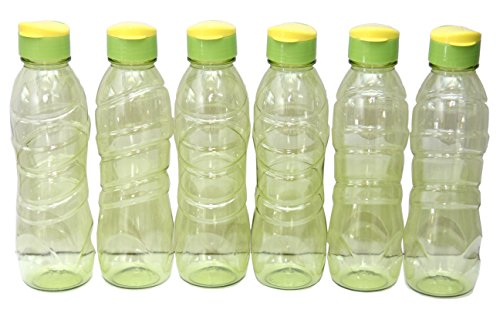 PEARLPET FRIDGE BOTTLES ( FLIP CAP) PACK OF 6 ( COLOR AND DESIGN MAY VARY)  available at amazon for Rs.279