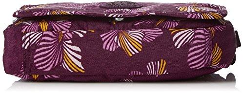 Kipling - Delphin N, Borse a tracolla Donna Multicolore (Herridage Fl)
