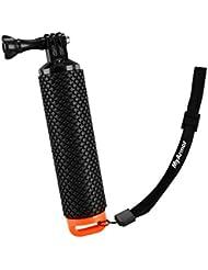 Poignée/trépieds Myarmor étanche, flottant GoPro Hero 5/GoPro Hero 3+ 4Session 3–Accessoires de poignée de montage et Pole de sport dans l'eau Sport pour appareil photo d'action Geekpro 3.0et ASX Pro Action Accessoires camera., Orange
