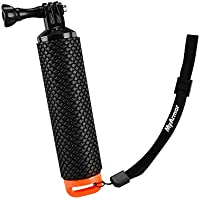 MyArmor Waterproof Floating Hand Grip Tripod Stick for Gopro Hero 5/ Gopro Hero 3+ 4 Session 3 - Handle Mount Accessories and Water Sport Pole for GeekPro 3.0 and ASX Action Pro Cameras Action Camera Accessories