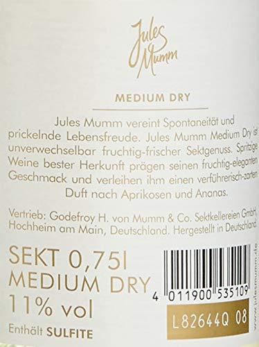 Jules Mumm Medium Dry Sekt 0, 75 L