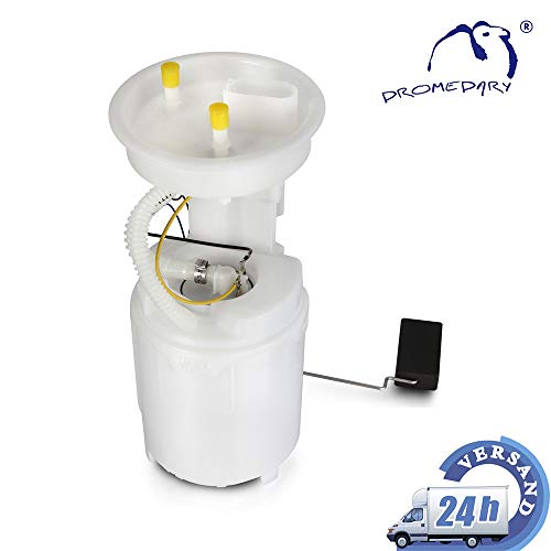 Dromedary 1J0919051H Kraftstoffpumpe Benzinpumpe Kraftstoff-Fördereinheit 85 L/H Kraftstoffversorgung Elektrisch Benzin Pump A3 8L1 A6 Golf IV 1J1 Passat 3B2