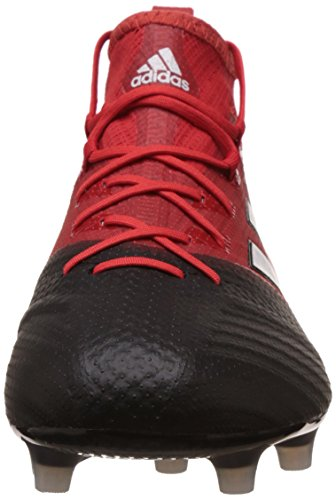 adidas Men's Ace 17.1 Primeknit Fg for Soccer Training Shoes, Red (Rosso Rojo/Ftwbla/Negbas), 7.5 UK