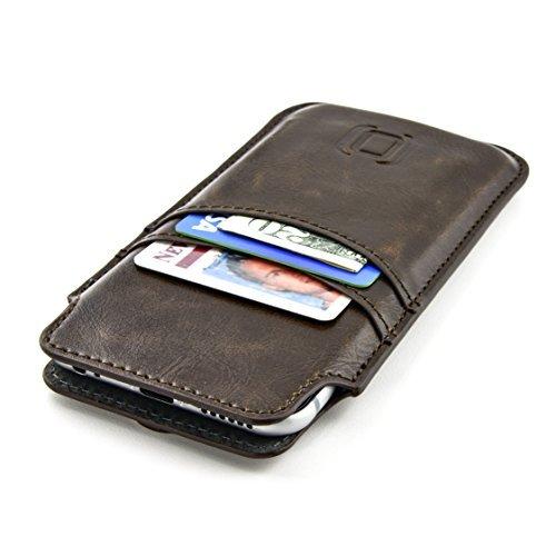 El Estuche Tarjetero Dockem para iPhone 8, iPhone 7, iPhone 6 y iPhone 6S es un estuche cartera altamente funcional y atractivo. La piel sintética vintage premium le da tacto sofisticado que le proporciona una apariencia versátil; encaja con tus jean...