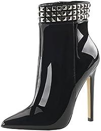 Heels-Perfect - Botas de Material Sintético para mujer