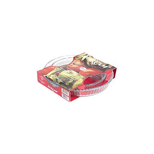 1690038-borcam-set-di-2-teglie-per-torte-in-vetro-resistente-al-fuoco-32-e-26-cm-colore-trasparente