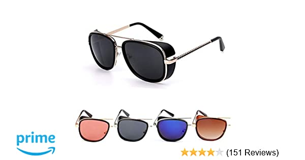 7a8214c19a 50 Shades Unisex Metal Sunglasses- (IMBR806
