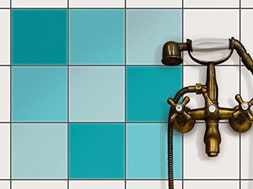 Fliesendekoration Klebefliesen   CREATISTO Fliesenfolie   Fliesen Folie  Sticker Aufkleber Badezimmer Fliesen Deko Küche   Fliesen Renovieren Ohne  Farbe ...