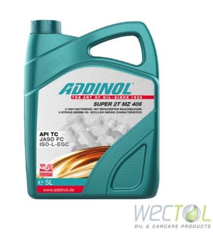 Addinol Motoröl Motorenöl Motor Motoren Motor Oil Engine Oil 2 Takt Super 2T MZ 406 5L 72400981 -