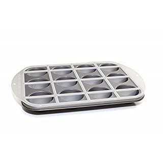 Love Cooking Company Mrs. Fields(TM) Half-N-Half Cupcake Pan-12 Cavity 16-inch x 10.75-inch