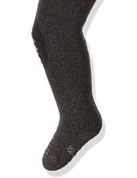 Weri Spezials ABS Kinderstrumpfhose Stopperstrumpfhosen Anti-Rutschstrumpfhosen mit Frotee-Sohle in Schwarz