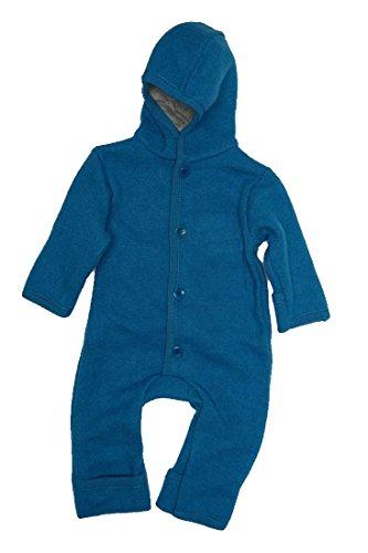 Disana 361XXXX - Walk-Overall Wolle , Blau, 74/80 6-12 Monate -