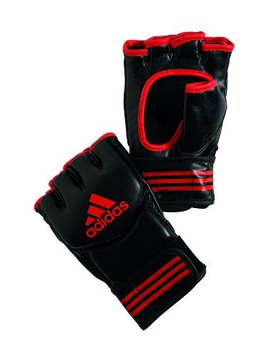 adidas Handschuh Traditional Grappling, black/red trim, Small, adicsg07 -
