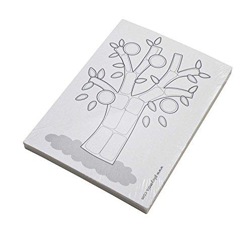 PlayMais 160082 - Card Set, 24 Karten zum Bekleben, Bastelset, schwarz / weiß