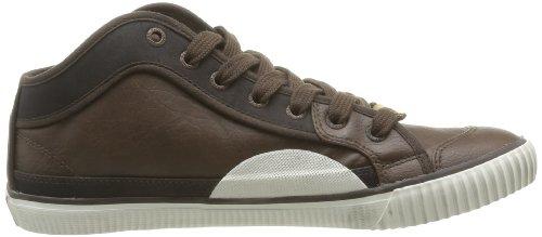 Pepe Jeans London IN-280 C, Sneaker uomo Marrone (Marron (878 Brown))