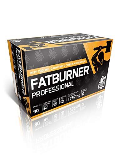 German Forge Fatburner Professional – Fat Burner Kapseln mit L-Carnitin & Cholin zur Unterstützung der Fettverbrennung in der Diät Phase – 1 x 90 Kapseln
