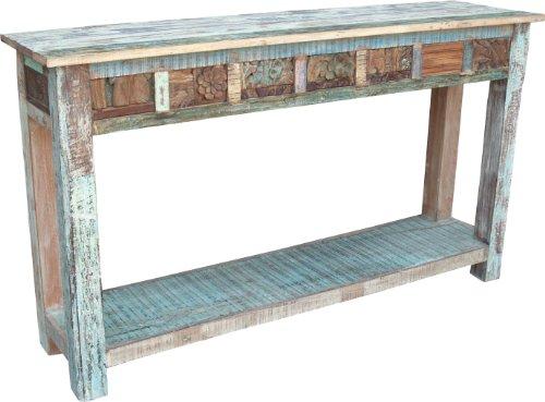 Guru-Shop Aparador Antiguo Consejo Alta (JH1-254), 78x145x40 cm, Cómodas y Aparadores
