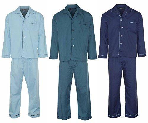 Champion Herren 3-pack Sock (3Stück Champion Herren Lang Pyjama Gr. XXX-Large, Mehrfarbig - Blue & Jade & Wine)